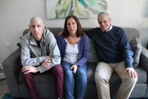 Santiago, his mother and father, Raquel and Jorge, from Montevideo, Uruguay